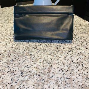 ZARA Black envelope clutch